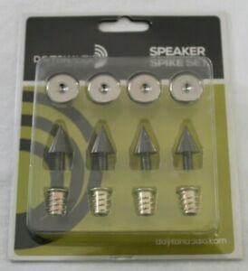 Dayton Audio - DSS2-BC - Black Chrome Speaker Spike Set 4 Pcs NEW free shipping
