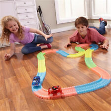 Magic Tracks The Amazing Racetrack that Can Bend Flex Glow 11Ft Xmas Gifts New