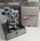 Antique W. & L. E. Gurley Surveyor's Transit w Original Metal Case vintage scope