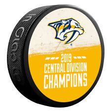 2018-19 NHL Nashville Predators Central Division*Champions*Souvenir Hockey Puck