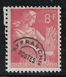 Timbre France Poste Pré-oblitérés  N°107