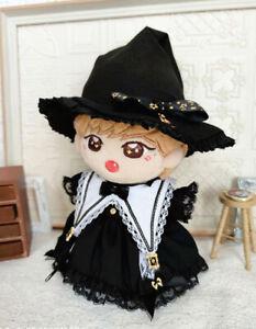 Hand-made Kpop Star Oh Se Hun Doll Clothes Suit Beret Suit Pots Cape Cloak N