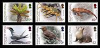 Tristan da Cunha 2016 Bio-diversity Pt 1 6v set MNH
