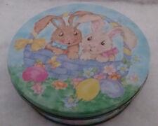 Basket Bunnies Tin Music Box - Peter Cottontail