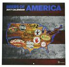TF Publishing TFB171135, 2017 Beer Labels of America Wall Calendar (17-1135)