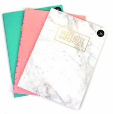 Luxe A4 Bloc-notes spirale Pad-Book 70gsm Doublé Page Paper Notebook