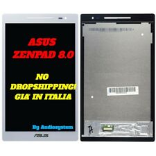 DISPLAY LCD+TOUCH SCREEN ASUS ZENPAD 8.0 Z380 Z380KL P024 BIANCO VETRO GLASS