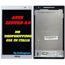 DISPLAY LCD+TOUCH SCREEN ASUS ZENPAD 8.0 Z380 Z380KL P024 BIANCO VETRO GLASS