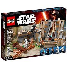 Lego Star Wars 75139 BATTLE ON TAKODA Finn Kylo Ren Maz First Order Minifig NEW