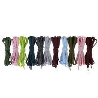 1 paire 120cm lacets plats imbriqués lacets chaussures occasionnels RO