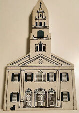 The Cats Meow Village Series X United Church Of Acworth 1992