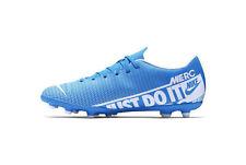 Zapatos de Fútbol Nike Mercurial Vapor 13 Club MG-AT7968-414 Azul Blanco
