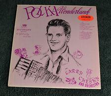 "Polka Wonderland / Larry Chesky & His Orchestra / Rex Records 12""LP"
