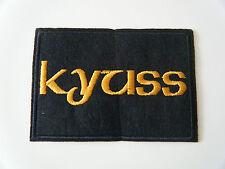KYUSS PATCH Embroidered Iron On Sew On Stoner Fu Manchu Sleep Clutch Badge NEW