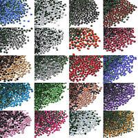 Pack of 1440pc DMC Iron On Hotfix Crystal Rhinestones Many Colors SS6(1.8-2.0mm)