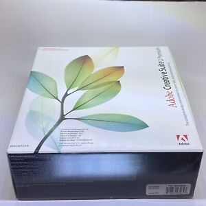 Adobe Creative Suite 2 Premium for Mac W/ Serial Number Product Key + Manual