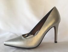 Christian Siriano Silver 5.5 Stiletto Heel Pump, Wedding, Church