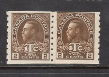 Canada #MR7i NH Mint Paste Up Pair