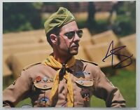 Jason Schwartzman Signed 8x10 Photo Actor Moonrise Kingdom Rushmore Big Eyes RAD