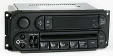 2003 Dodge Dakota AM FM Radio CD Player w Aux Input P05091506AE - Slider Ver RBK