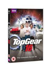 Top Gear - Series 16 3er [DVD] NEU Jeremy Clarkson Motorsport