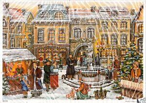 Vintage Advent Christmas Calendar Korsch Verlag Germany 10353 NOS