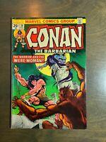 Conan the Barbarian  #38  VF Bronze Age(Marvel 1974)