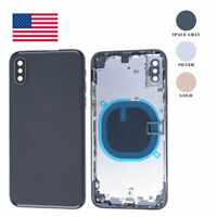Back Glass Housing Battery Cover Frame Assembly Replacement For iPhone XS OEM US