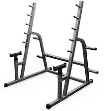 Valor Fitness Exercise Equipment BD-6 Safety Squat/Bench Combo Rack New