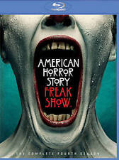 American Horror Story: Freak Show (Blu-ray Disc, 2015, 3-Disc Set)