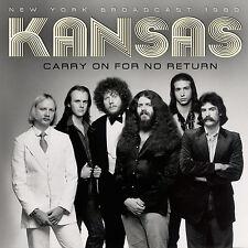 KANSAS New Sealed 2019 UNRELEASED 1980 LIVE NEW YORK CITY CONCERT CD