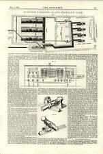 Planta de iluminación eléctrica 1891 Scotland Yard
