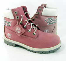 Timberland Shoes 6 Inch Premium Waterproof Pink Sneakers Men 6 Womens 8