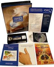 EYEQ Infinite Mind EYE Q SPEED READING IMPROVEMENT BRAIN ENHANCEMENT - VHS + DVD