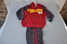 BOYS SIZE 4 RED AND GRAY TRACKSUIT BRAND NEW