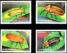 Taiwan 2006 , Insect, Fireflies , Stamp set MNH