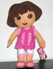 "DORA THE EXPLORER 13"" PLUSH DOLL SUMMER DRESS"