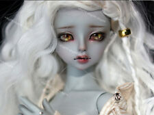 1/4  bjd doll ball jointed dolls grey color nice girl free eyes+face make up
