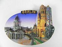 Berlin Germany Poly Magnet Gedächtniskirche Dom bei Dämmerung 7,5cm,Poly