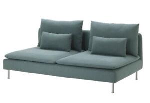 IKEA SODERHAMN Sofa Section Cover Finnsta Turquoise Slipcover NEW 603.283.30