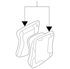 Genuine GM Brake Pads 22678482
