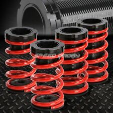 """FOR 95-04 CHEVY CAVALIER RED 0-3""""ADJUSTABLE COILOVER SUSPENSION LOWERING SPRING"""