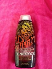 ED HARDY OBNOXIOUS HOT ACTION TINGLE BRONZER TANNING LOTION~100% AUTHENTIC~