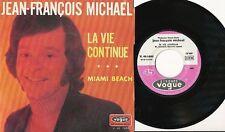 JEAN-FRANCOIS MICHAEL 45 TOURS FRANCE MIAMI BEACH