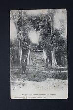 Postcard antique CPA animated ANDUZE - Park of Cordeliers (The Shell)