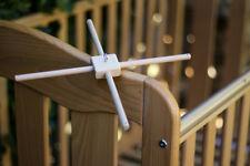 Baby mobile frame hanger Wood Crib mobile holder Nursery mobile frame DIY kit