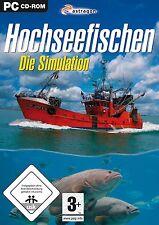 Hochseefischen - Die Simulation Fischerei für Pc Neu/Ovp