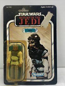 Vintage Star Wars Nikto MOC ROTJ 77a Back Sealed Original Kenner 1983