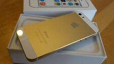 Apple iPhone 5s 32GB in Gold simlockfrei & brandingfrei & iCloudfrei / **TOPP**