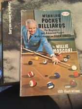 Winning Pocket Billiards By Willie Mosconi 1969. Soft cover , Illustrated